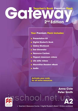 Gateway 2nd Edition A2 Teacher's Book Premium Pack ISBN: 9780230473089