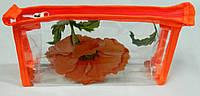 Косметичка женская прозрачная кпх 3, фото 1