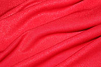 Красный.с напылением. Ткань креп дайвинг., фото 1