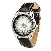 """Часы """"Астра"""" (ремешок насыщенно - черный, серебро) + дополнительный ремешок, фото 1"""