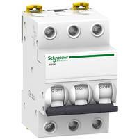 3P 10A C 6кА Модульний автоматичний вимикач A9K24310, фото 1