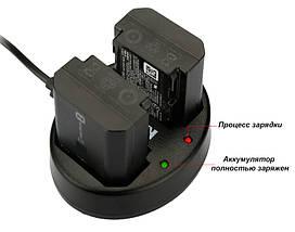 Двойное зарядное USB устройство KingMa для аккумуляторов Sony NP-FZ100, фото 3