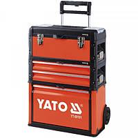 Чемодан-тележка для инструментов YATO YT-09101