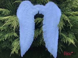 Большие крылья ангела белые маскарадные 150*120 для карнавала на хэллоуин, Новый год