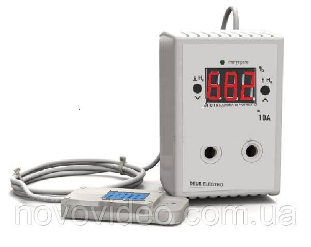 Регулятор влажности цифровой в розетку РВ-10Р, с датчиком DHT11
