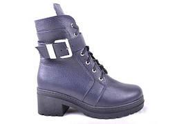 Женские ботинки (арт.534 син флат)