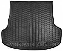 Полиуретановый коврик в багажник Kia Stinger 2017- (AVTO-GUMM)