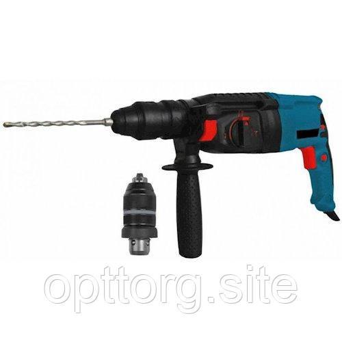 Перфоратор SDS+ 1000 Вт, 0-1300 об/мин Сталь П 28-12 П