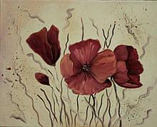 Картина масло, холст 40х50 Lubov Vakulenko № 2042