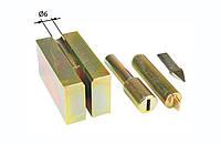 Инструмент для установки наконечников для тросов. Оправка для концевика троса таможенного