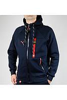 Мужской зимний спортивный костюм Puma 4891 Тёмно-синий