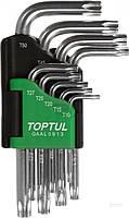 Набор ключей TORX Toptul т10-50 GAAL0913