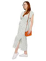 Сукня для вагітних довга One Size by Elena Kravets S Біла (0008)