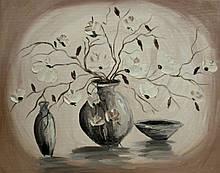 Картина масло, холст 40х50 Lubov Vakulenko № 2043