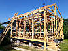 Процесс строительства дачного каркасного домика