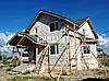 Процесс строительства загородного дома из газоблока