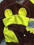 Детский велюровый костюм для мальчика с мышкой, фото 2