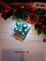 Посыпка фундук орех в шоколаде голубой 50г