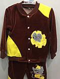 Детский велюровый костюм для мальчика с мышкой, фото 4
