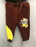 Детский велюровый костюм для мальчика с мышкой, фото 5