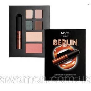 Набор для макияжа NYX City Set (Berlin)