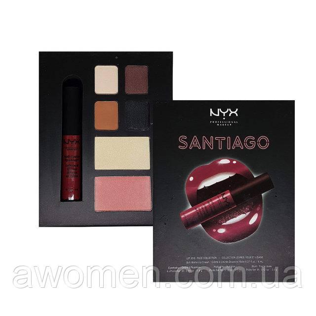Набор для макияжа NYX City Set (Santiago)