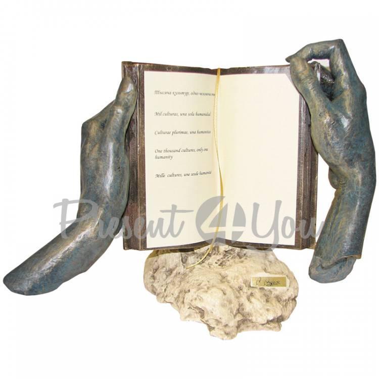 Скульптура из керамики «Тысяча культур» Anglada, h-23 см (143a)