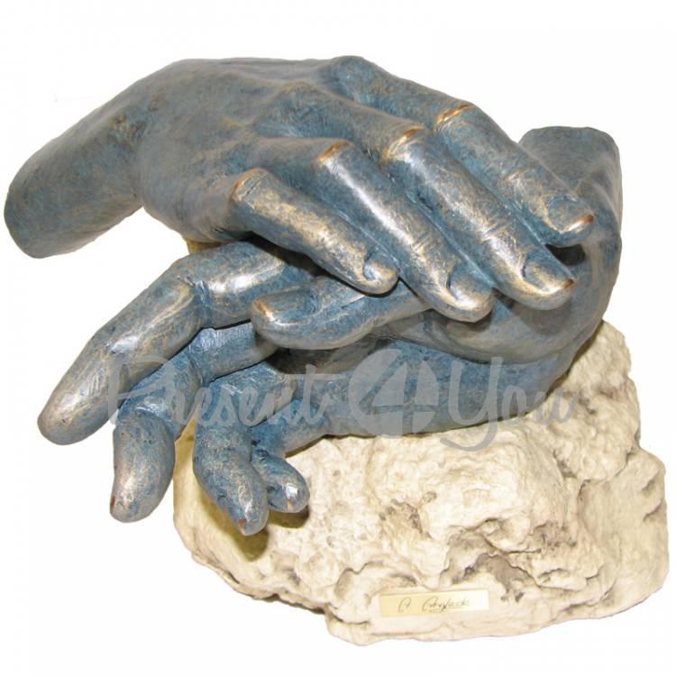 Скульптура из керамики «Вместе» Anglada, 19х23х25 см