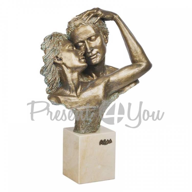 Скульптура из керамики «Соучастие» Anglada, h-27х17х41 см