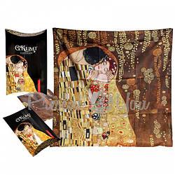 Платочек- шарф Г.Климт «Поцелуй» Сarmani, 73х73 см (021-2003)