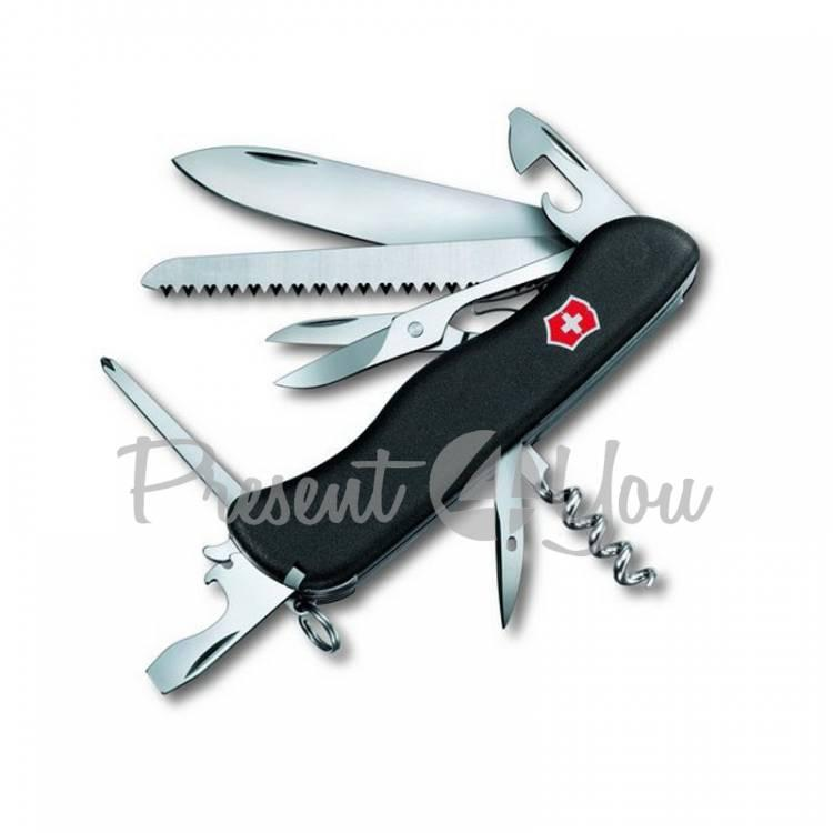 Нож черный нейлон - OUTRIDER из высокопрочной нержавеющей стали Victorinox