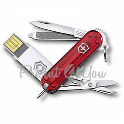 Нож красный Victorinox @ work