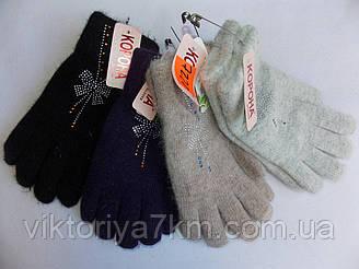 """Перчатки женские двойные """"Gippi"""" RS1-176"""
