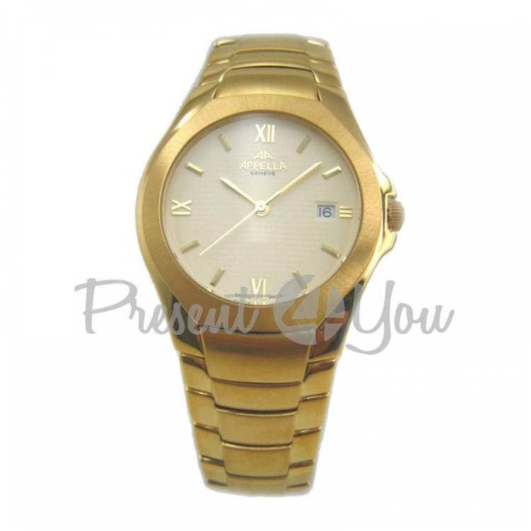 Мужские швейцарские часы Appella A-417-1002