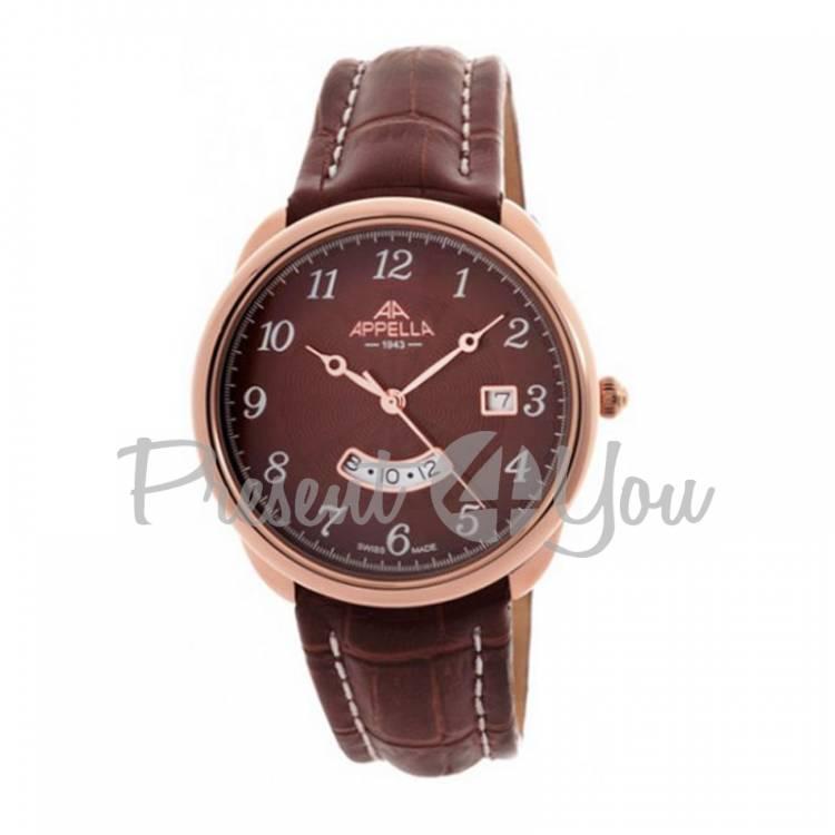 Мужские швейцарские часы Appella A-4365-40115