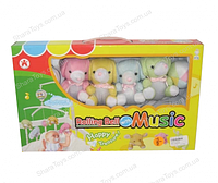 Мобиль на кроватку с плюшевыми игрушками