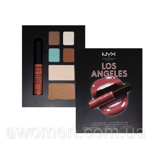 Набор для макияжа NYX City Set (Los Angeles)