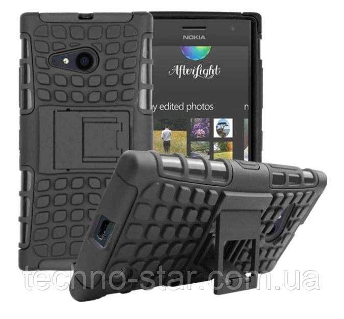 Бронированный чехол (бампер) для Nokia Lumia 730 | 735