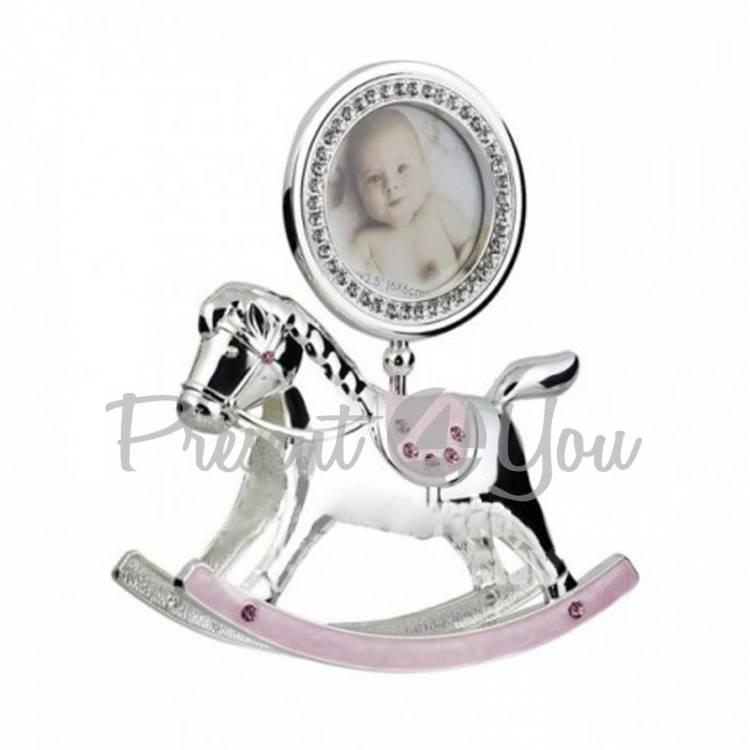 Фоторамка детская «Лошадка», розовая, 15х18 см (473-3183)