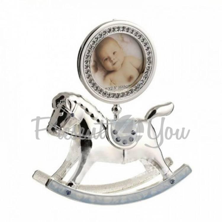 Фоторамка детская «Лошадка», розовая, 15х18 см (473-3184)