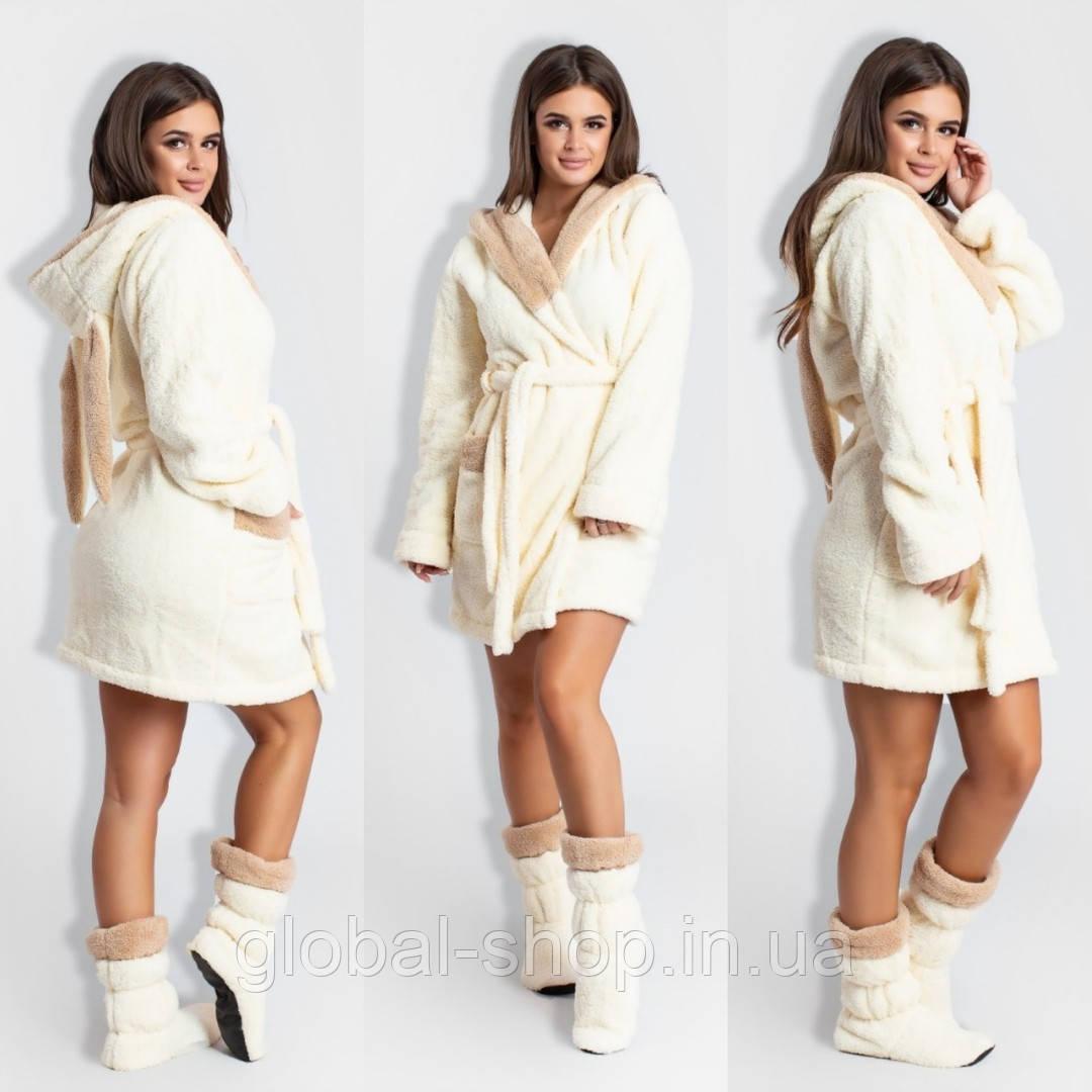 Халат женский с сапожками мод 0010