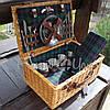 Корзина для пикника на 4 персоны с наполнением (123-0072), фото 3