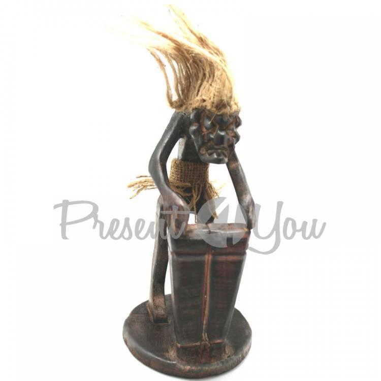 Статуэтка из дерева «Абориген Спикер» Индонезия, h-19 см