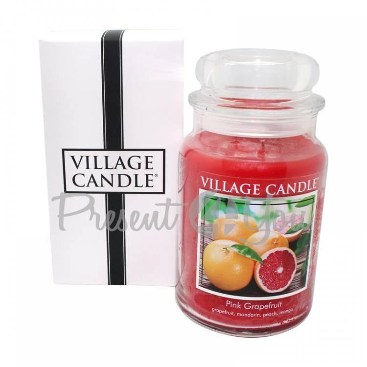 Свеча премиум класа «Розовый грейпфрут», 740 г (26822)