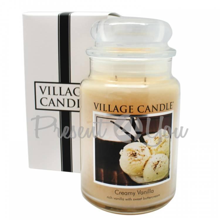 Свеча премиум класа «Сливки с ванилью», 740 г (26302)