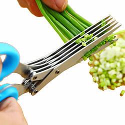 Ножницы для зелени с 5 лезвиями Empire EM-3114 Blue