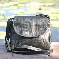 Кожаная женская сумка на плечо Cross Maxi