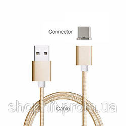 Магнитный кабель Type-C для зарядки Huawei P20 Lite