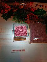 Посыпка шарики  розовая пшено 2-3 мм 10 г