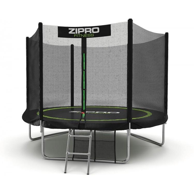 Батут із зовнішньою мережею Zipro Fitness 252 см